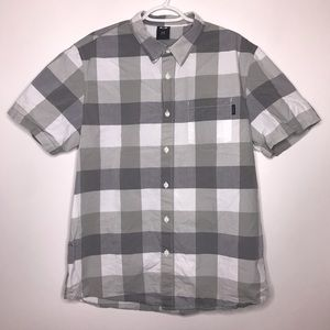 Oakley | Checkered Short Sleeve Button Up Shirt
